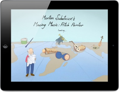 Morton Subotnick's Pitch Painter App For iPad Introduces Music Composing to Preschoolers -- AppAdvice | Edtech PK-12 | Scoop.it