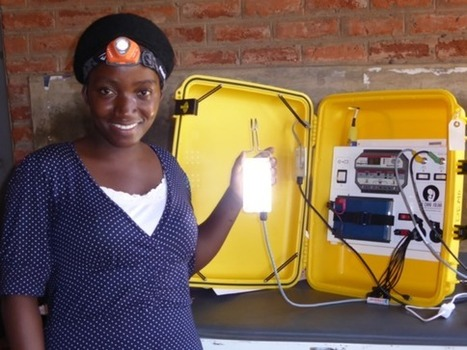 Saving Africa's Mothers With Solar Suitcases | Oven Fresh | Scoop.it