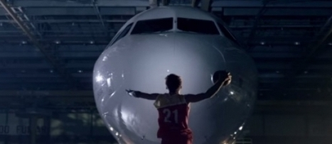 "Iberia activa su patrocinio de la Copa del Mundo de Baloncesto con un video de ""basket"" acrobático 