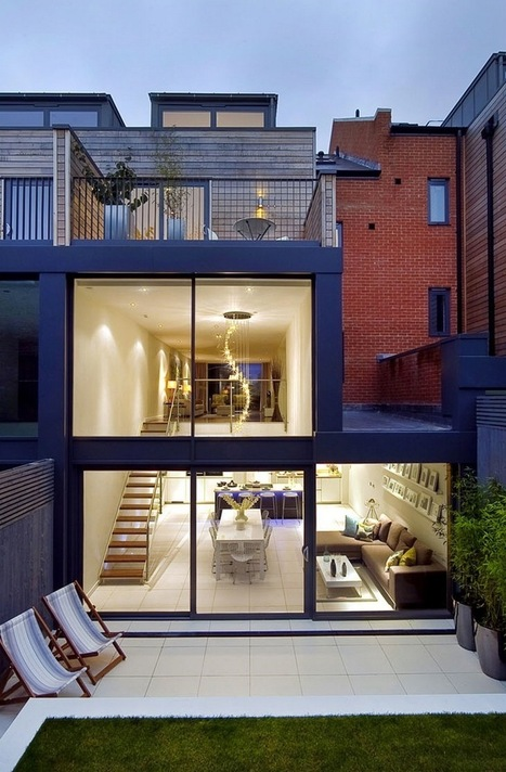 Lavish in London: Beautifully designed three storey house has modern and lavishly English overtones | Architecture and Architectural Jobs | Scoop.it