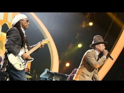 Pharrell Williams & Nile Rodgers At The Brit Awards. Get Lucky, Good Times And Happy! | HotHotter | Scoop.it