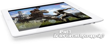 Byta ut iPad / iPad 2 mot en iPad 3 / Nya iPad? Ja, men bara kanske   Folkbildning på nätet   Scoop.it