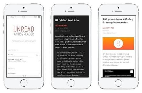 RSS : Unread pour iOS change de propriétaire | RSS Circus : veille stratégique, intelligence économique, curation, publication, Web 2.0 | Scoop.it