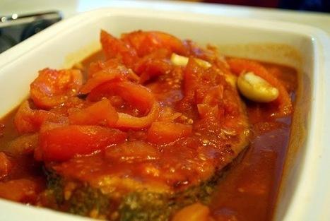 Cuisine maison, d'autrefois, comme grand-mère: Recette de cabillaud aux tomates, épices et fines herbes | recettes de cuisine de campagne | Scoop.it