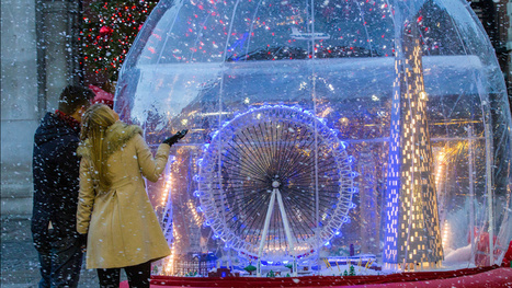 I Wanna Live in the World's Largest Lego Snow Globe   Lego is not a game... not only   Scoop.it