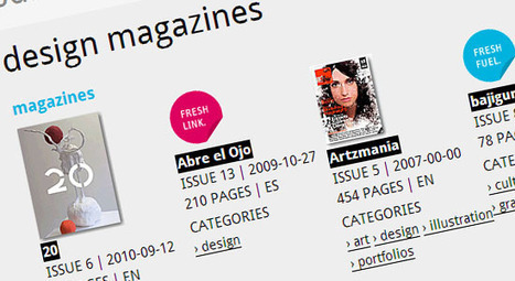 20 Free Online Magazines for Graphic Designers | Articles | Scoop.it