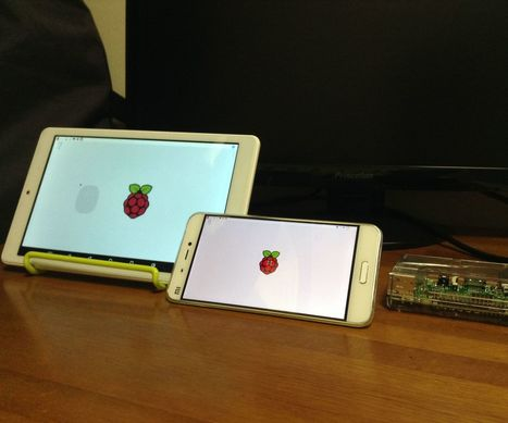 Use your tablet as Raspberry Pi screen | Arduino, Netduino, Rasperry Pi! | Scoop.it