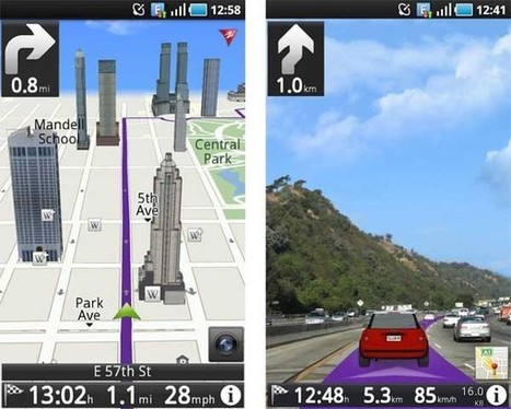 ROUTE 66, navegador GPS con realidad aumentada para Android | Augmented Reality & VR Tools and News | Scoop.it