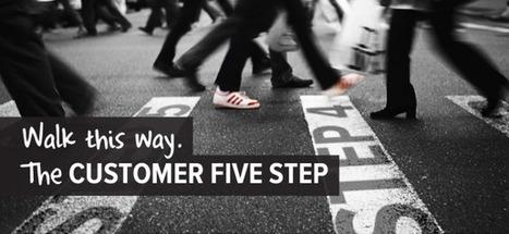 Walk this Way. The Customer Five Step | UncustomeryExperience | Importance of customer service | Scoop.it
