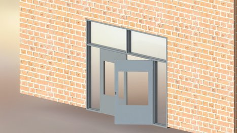 CAD Modeling and Manufacturing Drawings for Hollow Metal Doors & Windows | HiTech Engineering Services | Scoop.it