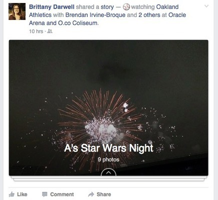 "Facebook Tests New ""Story"" Post Format 