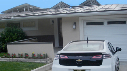 Homeowners Save on Electric Bill, Living and Driving on Sunshine | Net Zero USA | Scoop.it