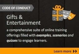 gifts and entertainment e-learning - Knowledge Platform releases Gifts and Entertainment E-Learning Course | Thomson Reuters Accelus | Scoop.it