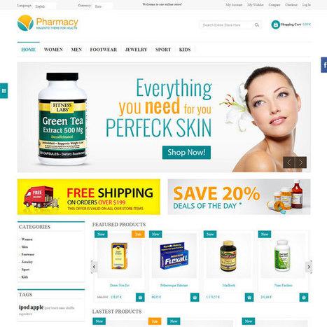 Pharmacy PrestaShop Theme | Prestashop Theme Download | Best Prestashop Themes | Scoop.it