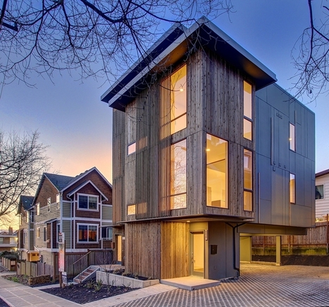 10 Climate-Sensitive Contemporary Homes That Beat Seattle's Rainy Season | Green Living | Scoop.it