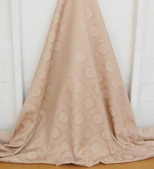 **NEW IN** END ROLL DEAL 5M'S Modern brocade fabric for curtains etc in cream & burnished gold. | Welcome to Discount Fabrics Lincs | Scoop.it