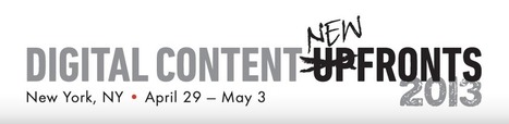 Digital Content NewFronts: 45 milioni di spettatori al mese per la ... - ScreenWEEK.it Blog (Blog) | web content | Scoop.it