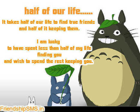 half of our life | Friendship | Scoop.it