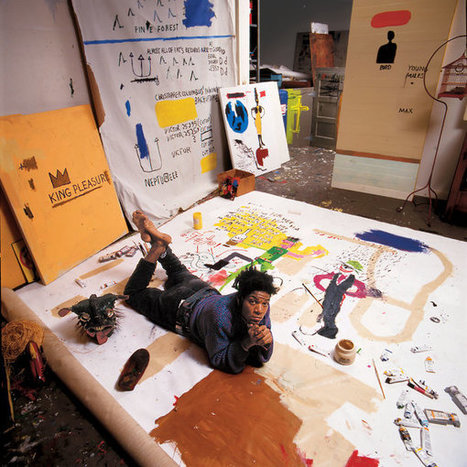 The Unknown #Notebooks of #Jean-Michel #Basquiat #art #painting | Luby Art | Scoop.it
