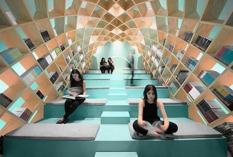 Mexico's Conarte Library Gets a New Dome Shaped Bookshelf You Can Sit In | innovative libraries | Scoop.it