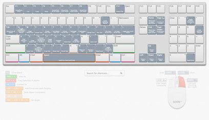 Un clavier interactif avec tous les raccourcis Photoshop | Time to Learn | Scoop.it