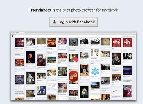 FriendSheet: Voir les photos de Facebook à la manière de Pinterest | AQUI SOCIAL MEDIA | Scoop.it