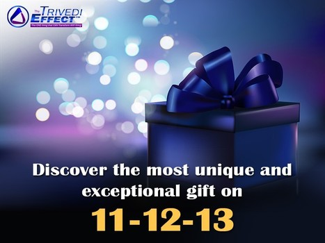Discover the most unique and exceptional gift on 11-12-13 | Spiritual Leader | Scoop.it