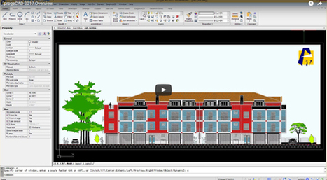 progeCAD Professional 2017 is launched for better CAD modeling | BIM Forum | Scoop.it