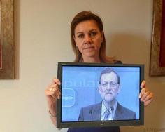 María Dolores de Cospedal, blanco de la sátira en Twitter | Partido Popular, una visión crítica | Scoop.it