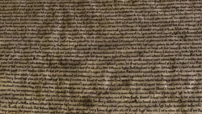 Magna Carta copy found in scrapbook | Antiques & Vintage Collectibles | Scoop.it