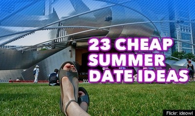 23 Cheap Summer Date Ideas   The L Stop   Love and Dating   Scoop.it