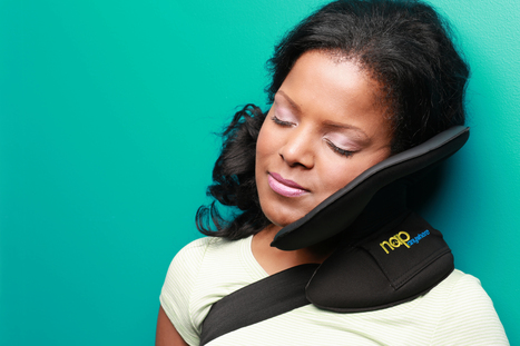 Nap Anywhere Head Pillow for Travel | Travel product | Scoop.it