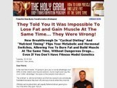Holy Grail Body Transformation, Lose Fat and Gain Muscle, Body ...   Ideal Body Fat   Scoop.it