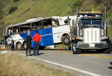 Family files lawsuit against bus companies involved in fatal crash in Yucaipa, CA | Work Accident Safety News | Scoop.it