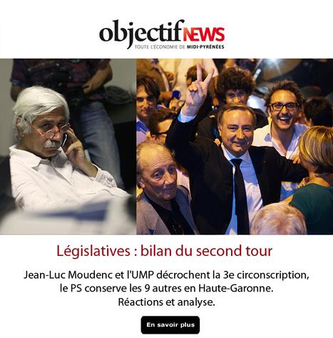 Législatives : Jean-Luc Moudenc et l'UMP décrochent la 3e circonscription, les 9 autres vont au PS en Haute-Garonne. Réactions et analyse | Toulouse La Ville Rose | Scoop.it