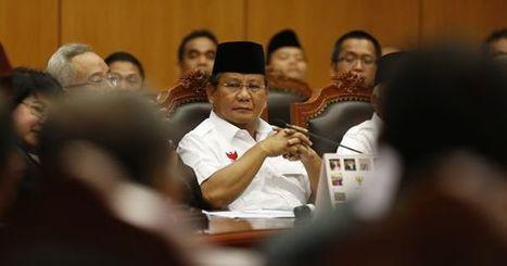 Présidentielle en Indonésie : l'ex-général perdant lance l'offensive devant la justice | International | Scoop.it
