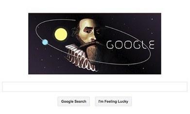 Johannes Kepler featured in latest Google doodle | Slash's Science & Technology Scoop | Scoop.it