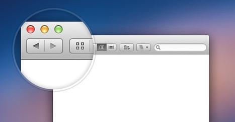 Free PSD: Retina Mac Finder Window | Premium Pixels | photoshop ressources | Scoop.it