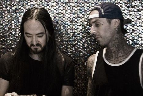 """EDM News:  New Electronic Music From Steve Aoki and Travis Barker- The """"Push 'Em"""" Remix (Originally By Travis Barker And Yelawolf) 