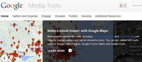 Google guides journalists to its digital resources with new Google Media Tools hub | GooglePlus Expertise | Scoop.it