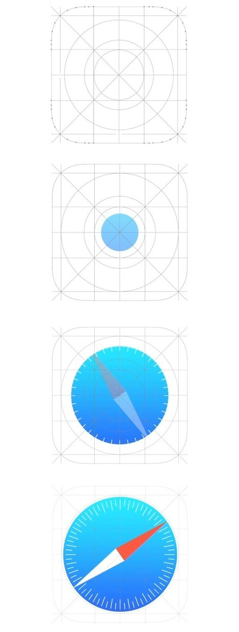 Apple's iOS 7 closely follows Google's design principles   Website Graphic Design, UI and UX   Scoop.it