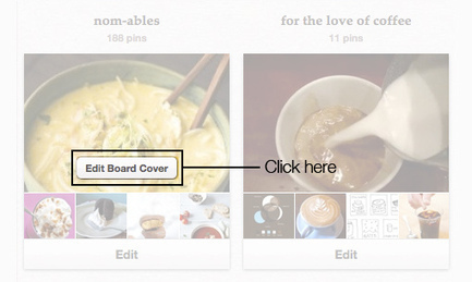 Pinterest now lets you select a pin for a board cover, but private boards still elusive | More TechBits | Scoop.it