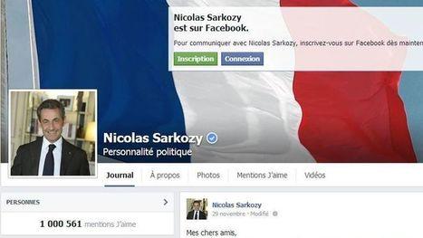 Sarkozy propose à son millionième fan sur Facebook de passer une journée avec lui | Actu, moto & politique | Scoop.it