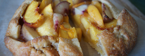 Peach and Nectarine Galette | Bake Your Plate | ♨ Family & Food ♨ | Scoop.it