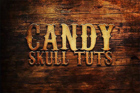 Western Style Old Wood Text Effect In Photoshop | Photoshop Text Effects Journal | Scoop.it