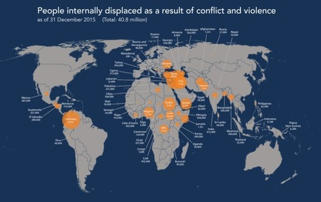 More people are internally displaced than ever before, and these are the countries worst affected   Navigate   Scoop.it