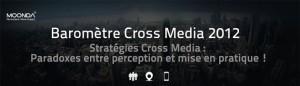 Infographie : Baromètre Cross Media 2012 | E-commerce, M-commerce : digital revolution | Scoop.it
