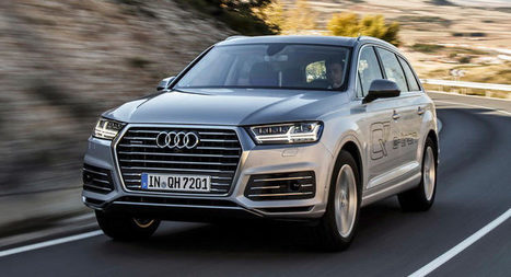 Audi Details Super-Frugal Plug-In Hybrid Q7 e-tron 3.0 TDI Quattro | SJB Autotech News | Scoop.it