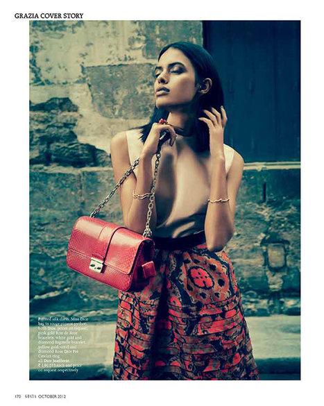 Lakshmi Menon Takes on Paris in Dior for Grazia India's October 2012 Cover Shoot | Mind Goal Success | Scoop.it