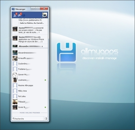 Facebook Messenger for Windows: go to your Facebook account without using a browser | Best Free Software | Scoop.it